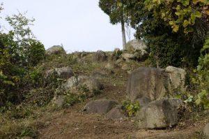 十文字山登山道